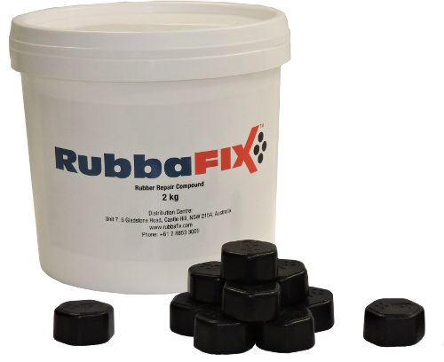 RubbaFIX® Pucks - Rubber Repair Compound